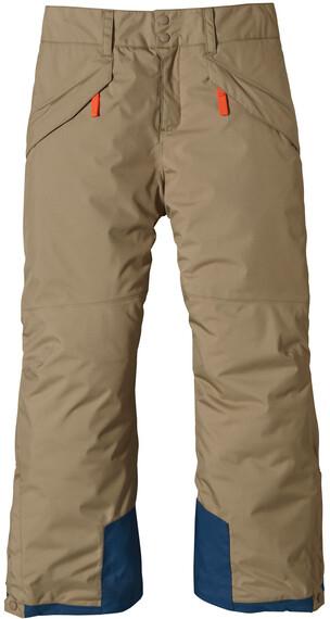 Patagonia Boys' Insulated Snowshot Pants Ash Tan